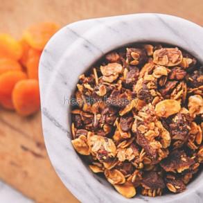 Glutensiz Granola (Kayısı&Badem)